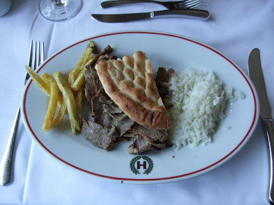 Hamdi Restaurant : ドネルケバブ
