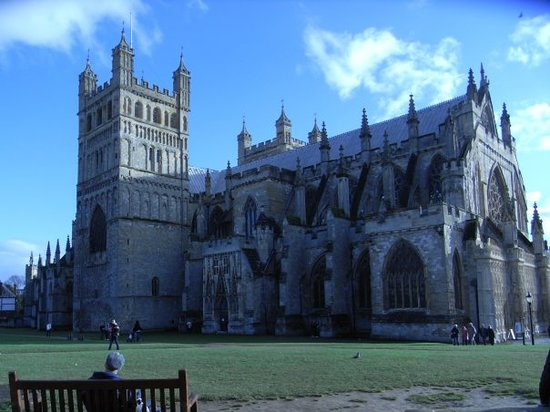 Έξετερ, UK: exeter cathedral