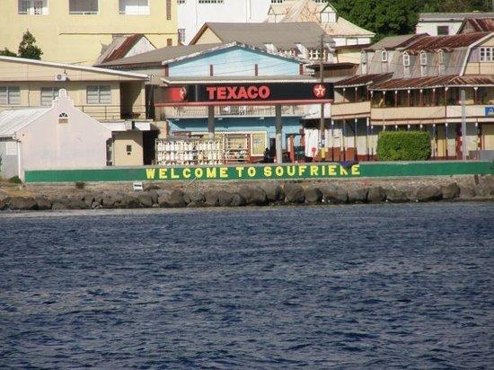 Soufrière, Santa Lucía: Soufriere, Caribbean