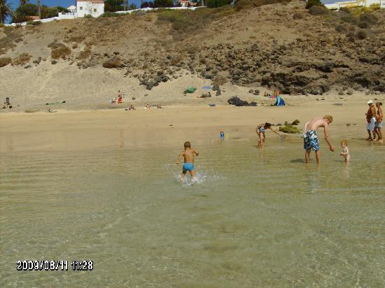 Pájara, Espagne : nice beach ...at jandia