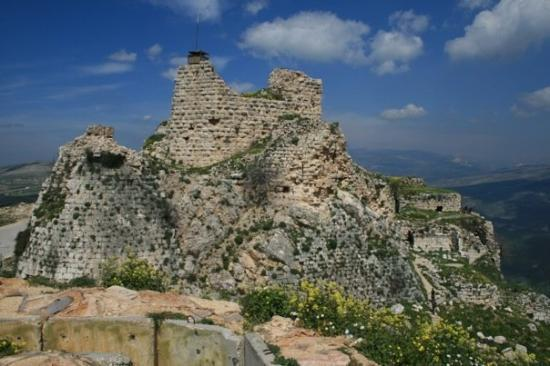 Sidon, Liban: Beaufort Castle near Arnoun