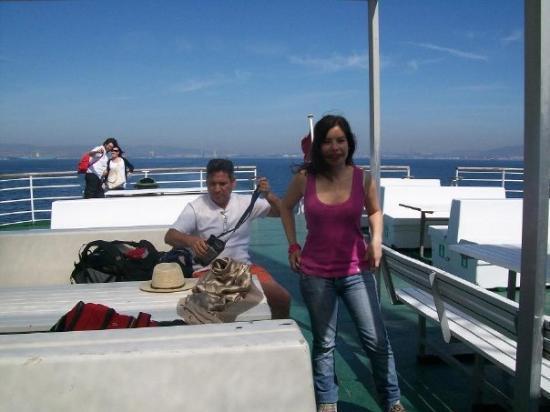 En el barco desde algeciras espa a fotograf a de t nger - Cristalerias en algeciras ...