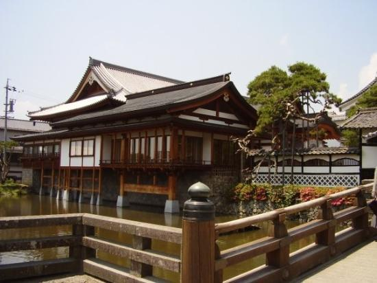 Nagano, Japan: hradební příkop v Naganu