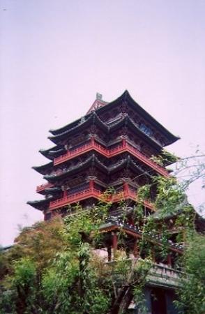 หนางฉาง, จีน: Tengwang Pavilion, Nanchang, Jiangxi Province, China (2003)