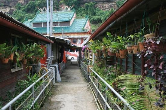 Sandakan, Malaysia: Chinese Water Village where we got our speed boats to the Kinabatangan River