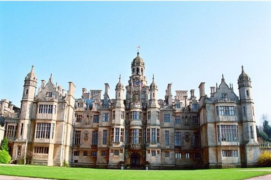 Grantham, UK: Harlaxton Manor - Early AM