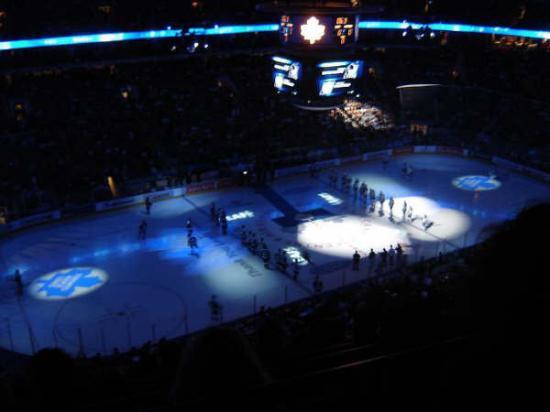 Scotiabank Arena: On Ice Toronto Blue
