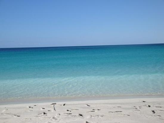 The amazing white sand and Caribean waters of the Secret Beach on Vieques.