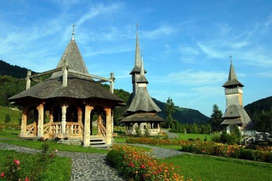 Satu Mare, Rumania: Monastero di Barsana (Maramures, Romania)