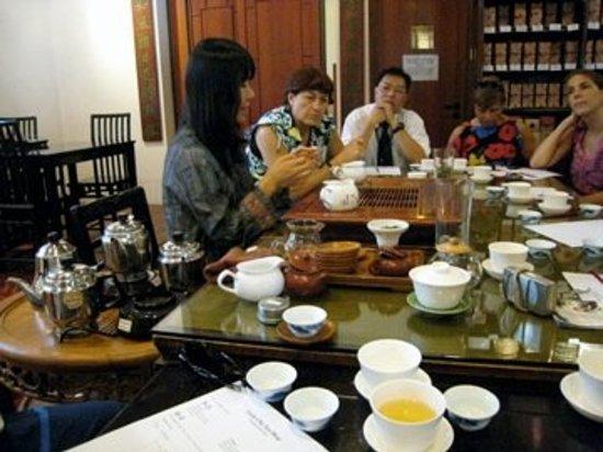 Hong kong tea restaurant