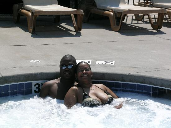 Edge-O-Dells Resort: Us in the Whirl Pool