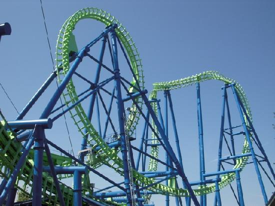 Silverwood Theme Park: Aftershock
