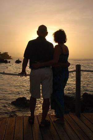 Sandals Ochi Beach Resort: Try the free Sunset Photo Shoot with Micha