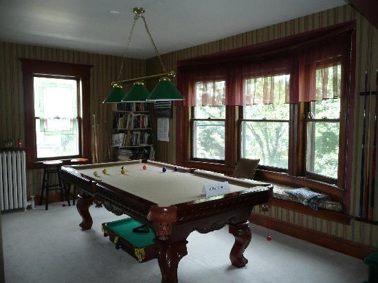 Sleepy Hollow Bed & Breakfast : Anyone for a game of Pool?