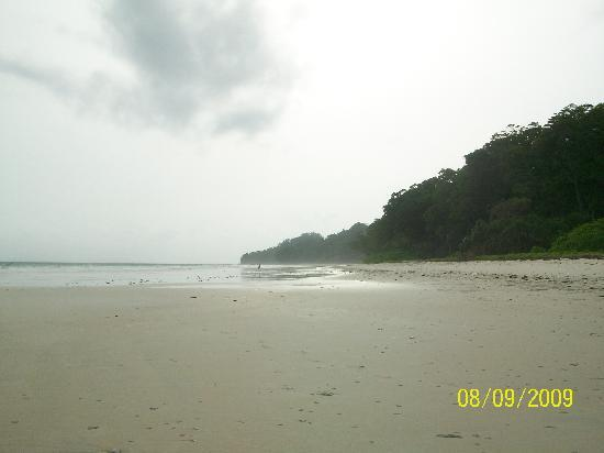 Radhanagar Beach: as far as da eye can see...
