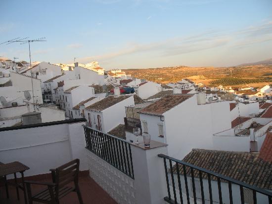 Olvera, España: Almost sunset