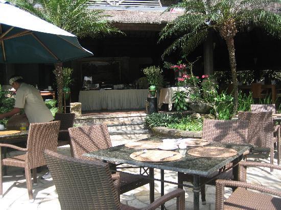 Hotel Vila Lumbung: Breakfast area