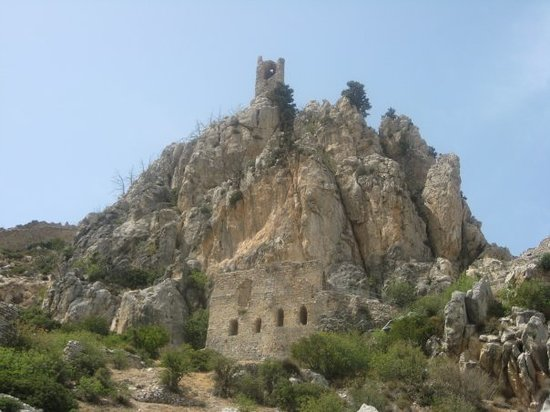 Kyrenia, ไซปรัส: They say that Lusignan nobles liked St. Hilarion Castle, because its garden was cool and refresh