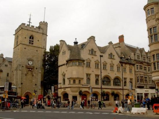 Carfax Tower At Cornmarket Street Picture Of Oxford Oxfordshire