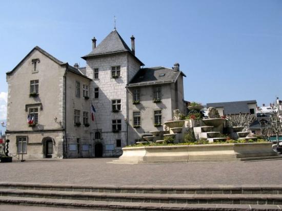 Aix-les-Bains, Francja: Aix les Bains - la marie