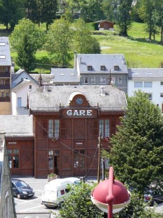 Cauterets, bus station