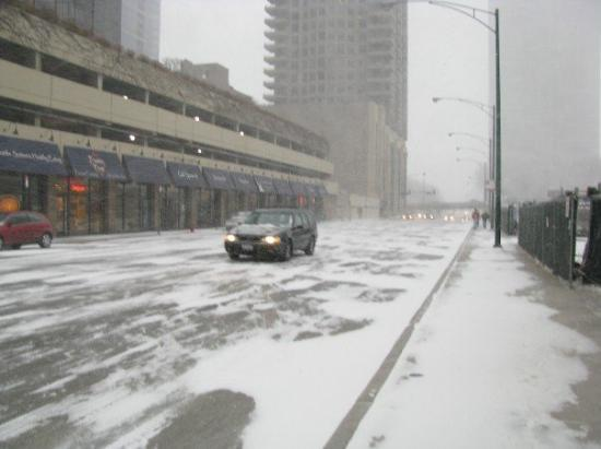 1 hour into the snow storm - Picture of Chicago, Illinois