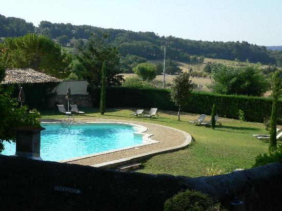 Lourmarin, France: the pool