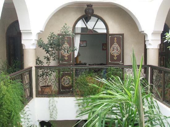 Riad Bamaga Hotel: les chambres à l'étage