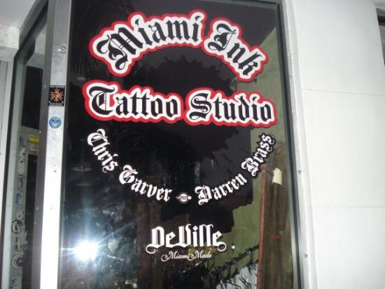The ONLY tattoo shop that was closed that day in ALL of Miami ...