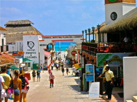 Cozumel Shops | I took this shot along the main street in ... |Cozumel Mexico Stores With Boots