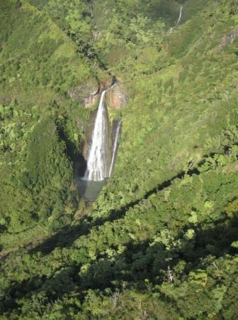Lihue, ฮาวาย: Jurassic Park waterfalls Kauai 2008