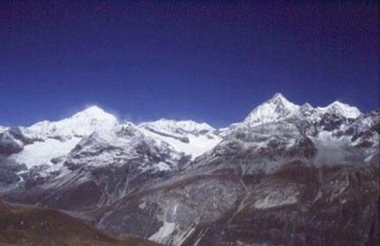 Pokhara, Nepal: Himalaya Mountain Range, Nepal