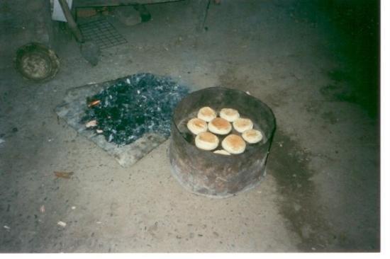 Curicó, Chile: Que rico el pan!!!!