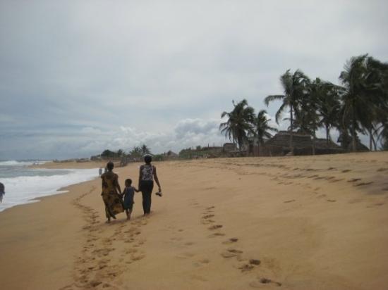 Lome, Togo : Plage de Lomé