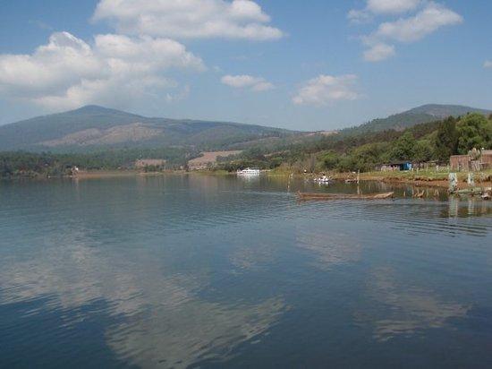 Patzcuaro, Mexiko: lago de zirahuen