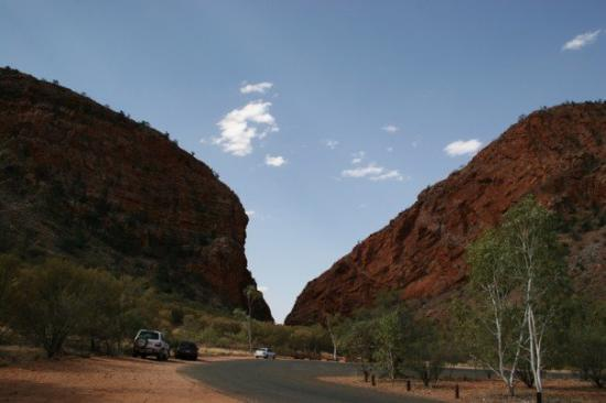 Simpsons Gap - About 20mins drive from Alice Springs