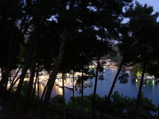 View from the castle onto Parga