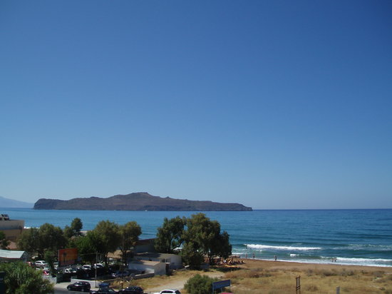 Stalos, Greece: View from balcony
