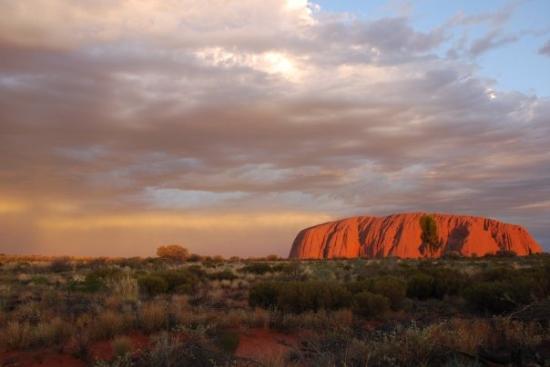 Alice Springs, Australia: at dawn
