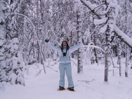 Nurmes, ฟินแลนด์: Snowy me