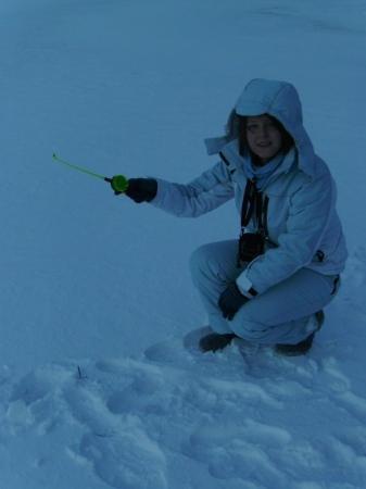 Nurmes, ฟินแลนด์: Ice fishing!