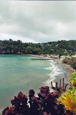 A view of Soufriere, St. Lucia. January 2005.