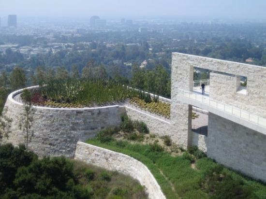 Los Angeles, Kalifornien: A View from the Getty Center in LA.