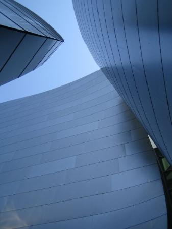 Los Angeles, Kalifornien: A view of the Disney Center in LA.