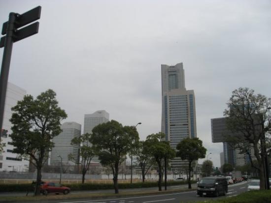 โยะโกะฮะมะ, ญี่ปุ่น: Minato mirai desde lejos. (Yokohama)
