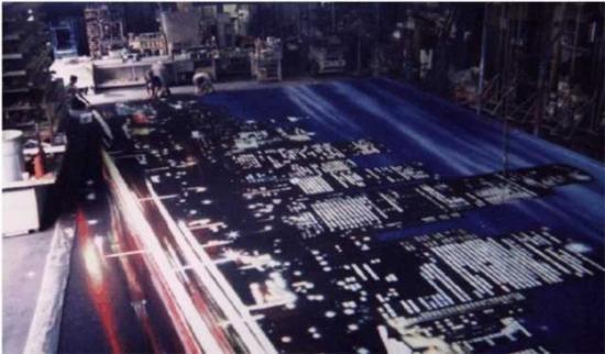Los Angeles, Kalifornien: EMINEM 100' x 30' Backdrop © 2009 J.M.Garfinkle