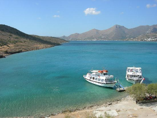 Grand Hotel Holiday Resort: View from Spinalonga island