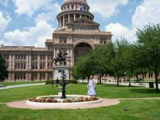 Texas State Capitol: Me living in the Capital A in Texas!