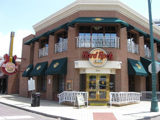 The Outside Of Cafe Picture Hard Rock