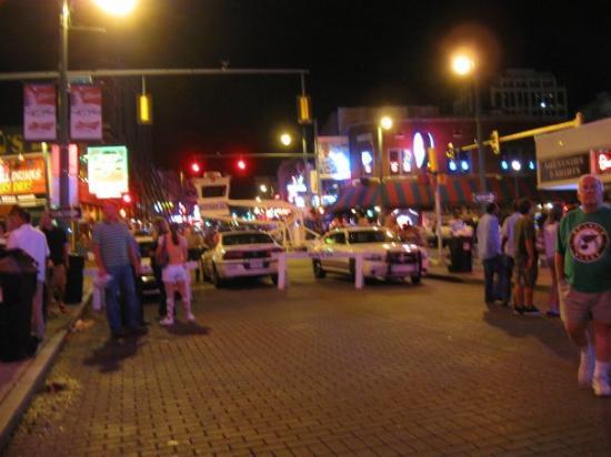 Beale Street on a Saturday night, babey.  <3  Goooood stuff.